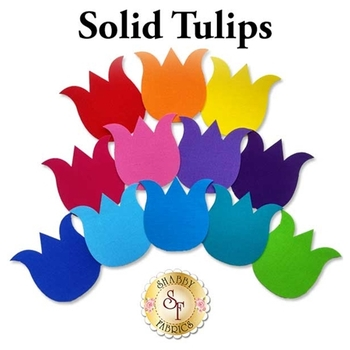 Laser Cut Solid Tulips - 4 Sizes Available!