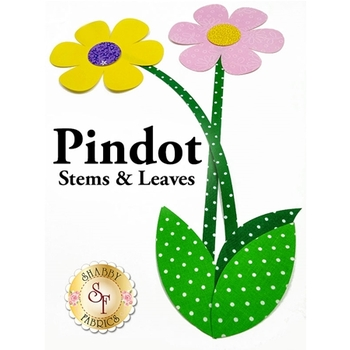 Laser Cut Pindot Stems & Leaves - 4 Sizes Available!