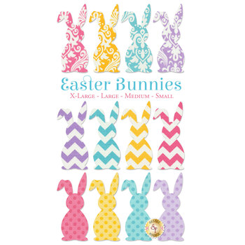 Laser Cut Easter Bunny - 4 Sizes Available!