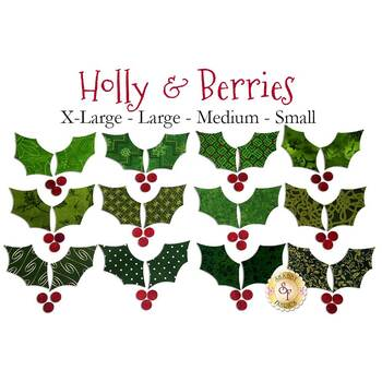 Laser Cut Holly - 4 Sizes Available!
