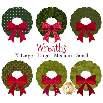 Laser Cut Wreaths - 4 Sizes Available!