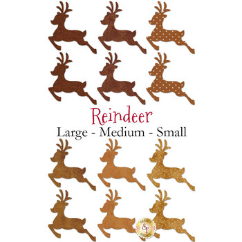 Laser Cut Reindeer - 3 Sizes Available!