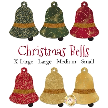 Laser Cut Christmas Bells - 4 Sizes Available!