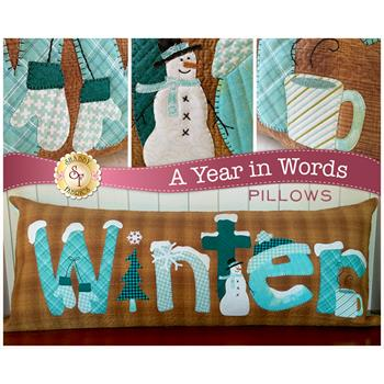 A Year In Words Pillows - Winter - January - Laser Cut Kit