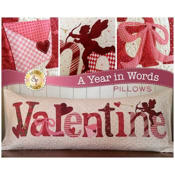 A Year In Words Pillows - Valentine - February - Laser Cut Kit