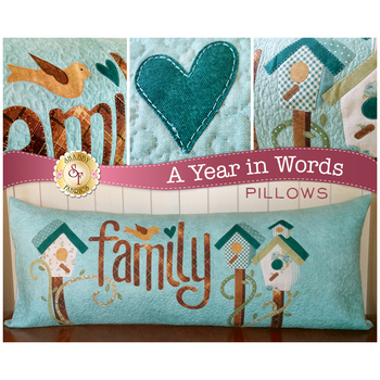 A Year In Words Pillows - Family - March - Laser Cut Kit