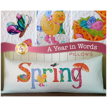 A Year In Words Pillows - Spring - April - Laser Cut Kit