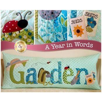 A Year In Words Pillows - Garden - June - Laser Cut Kit