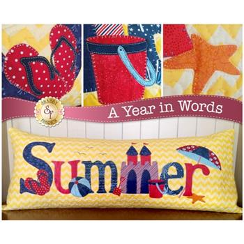 A Year In Words Pillows - Summer - July - Laser Cut Kit