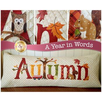 A Year In Words Pillows - Autumn - September - Laser Cut Kit