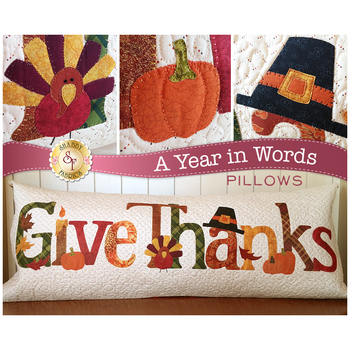 A Year In Words Pillows - Give Thanks - November - Laser Cut Kit