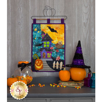 Halloween Patch Series - Wall Hanging - Pattern