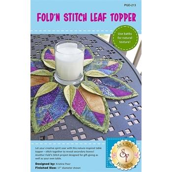 Fold'n Stitch Leaf Topper Pattern