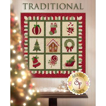 Christmas Keepsakes - Wrapped in Joy - Traditional Kit