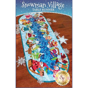 Snowman Village Series - Table Runner - Pattern
