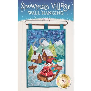 Snowman Village Series - Wall Hanging - Pattern