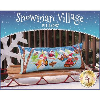 Snowman Village Series - Pillow - Pattern
