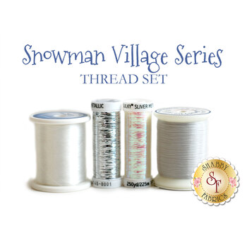 Snowman Village Series - 4pc Thread Set
