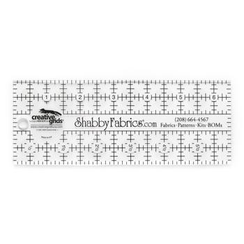 Shabby Fabrics Rectangle Ruler 2½