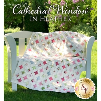 Cathedral Window Quilt & Pillow Pattern