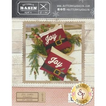 Joy Santa Pillows Pattern
