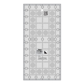 Creative Grids Simple 7/8 Triangle Maker Quilt Ruler #CGR78