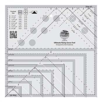 Creative Grids Ultimate Flying Geese Tool #CGRDH4