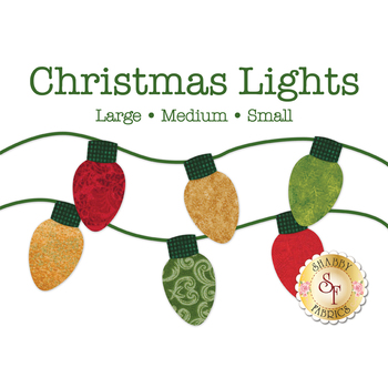 Laser Cut Christmas Lights - 3 Sizes Available!