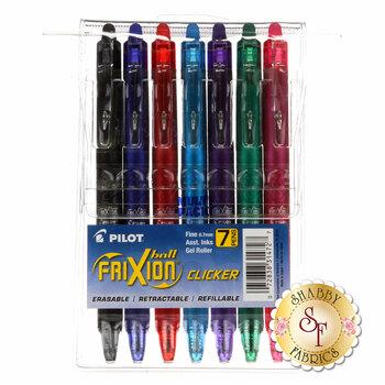 Frixion Clicker Pen Assortment - .7mm 7pk