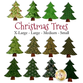 Laser Cut Christmas Trees - 4 Sizes Available!