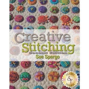 Creative Stitching Book by Sue Spargo - Second Edition