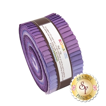 Kona Cotton Solids  Roll-Up - Lavender Fields by Robert Kaufman Fabrics