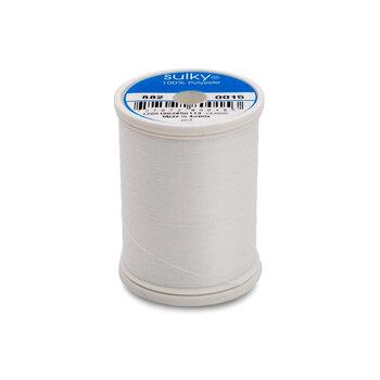 Sulky Bobbin Thread - White 882-0015 - 1100 yds