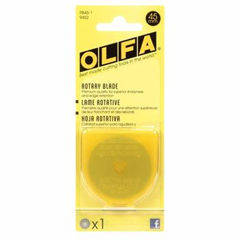 Olfa 45mm Rotary Blades - 1 count