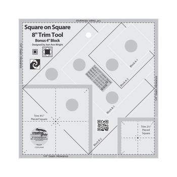 Creative Grids Square on Square Trim Tool - 4