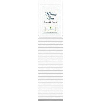 Essentials Gems  Precut Strips - White Out by Wilmington Prints