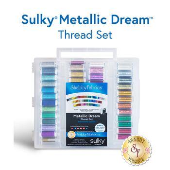 Sulky Metallic Dream - 88 pc Thread Set