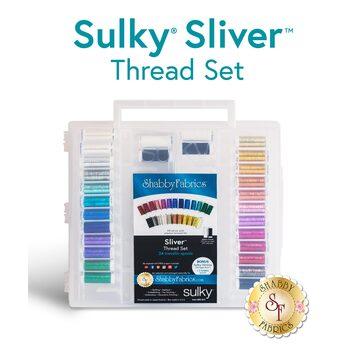 Sulky Sliver Metallic - 28 pc Thread Set