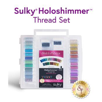 Sulky Holoshimmer Metallic - 28 pc Thread Set