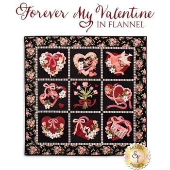 Forever My Valentine In Flannel Quilt Pattern