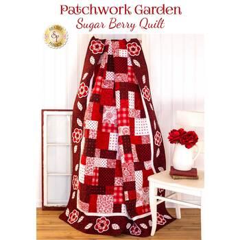 Patchwork Garden Quilt Kit - Sugar Berry