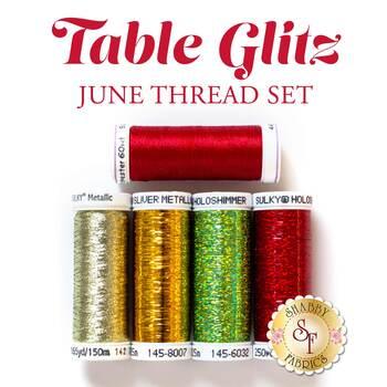 Table Glitz Series - June - 5 pc Thread Set