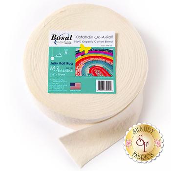 Bosal Katahdin 100% Cotton Batting - 25yds - For Jelly Roll Rugs