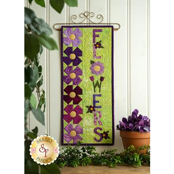 A Year In Words Wall Hangings - Flowers - May - Kit