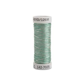 Sulky Original Metallic - #7025 Silver/Icy Blue Thread - 165yds