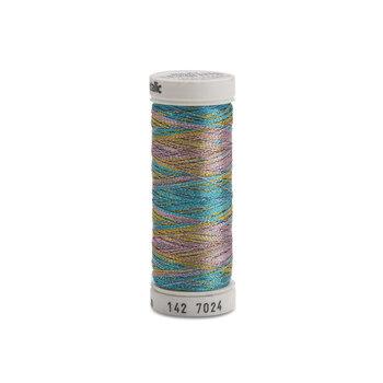 Sulky Original Metallic - #7024 Lt. Blue/Gold/Lavender Thread - 165yds