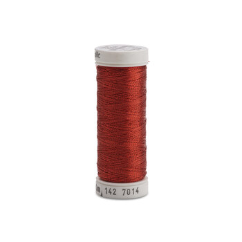 Sulky Original Metallic - #7014 Christmas Red Thread - 165yds