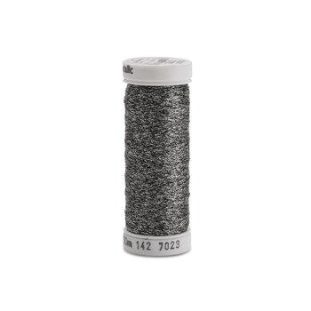 Sulky Original Metallic #7023 Black/Silver 165 yd Thread