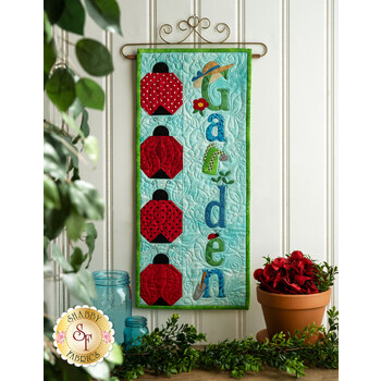 A Year In Words Wall Hangings - Garden - June - Kit