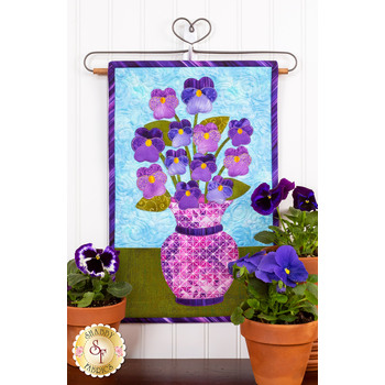 Blooming Series - Pansies - May - Pattern